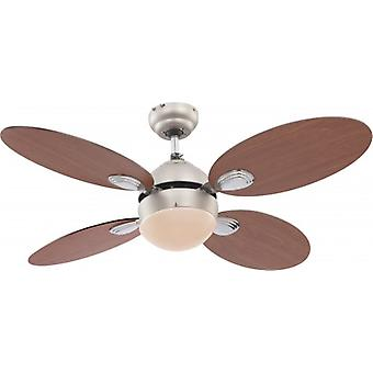 "Globo Ceiling Fan Wade 106.6 cm / 42"" with pull cord"