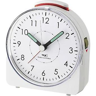 Radio Alarm clock TFA 60.1508.02 White Fluorescent Hands