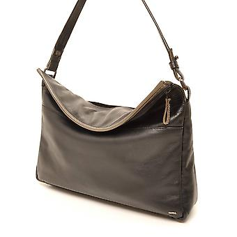 Berba Soft shoulder bag 005-693 black/Taupe