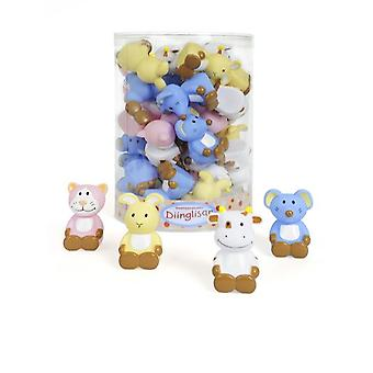 Animal Design Bath Toys - Set of 4 suitable from Birth