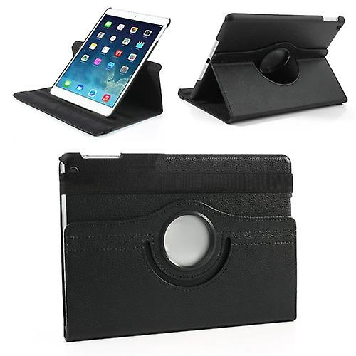 Cover art leather 360 degree case black for Apple iPad air 2 2014