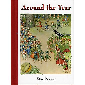 Around the Year: A Picture Book (Mini Edition) (Hardcover) by Beskow Elsa