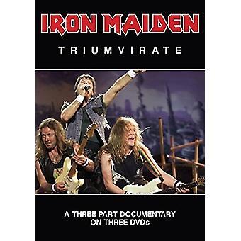 Iron Maiden - Iron Maiden - triumvirat [DVD] USA importerer