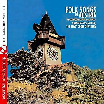 Karas, Anton/the Boys Choir of Vienna - Folk Songs of Austria [CD] USA import