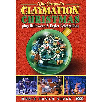Will Vinton Claymation jul [DVD] USA importerer