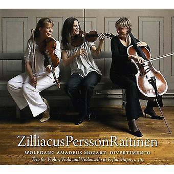 W.a. Mozart - Mozart: Divertimento [CD] USA import