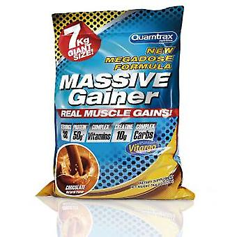 Quamtrax Nutrition Massive Gainer Strawberry & Kiwi 7 Kg (Deporte , Proteínas)