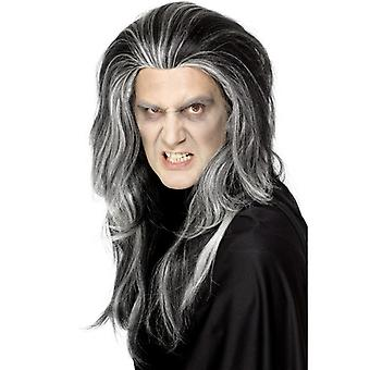 Gothic Halloween Vampire wig Count Dracula
