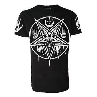 Darkside - PENTAGRAM BAPHOMET - Herre T-Shirt - Black