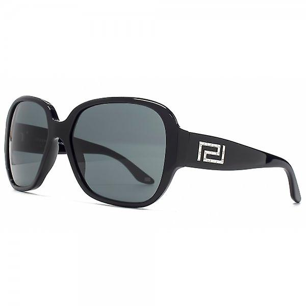 Versace Classic Square Sonnenbrille In schwarz