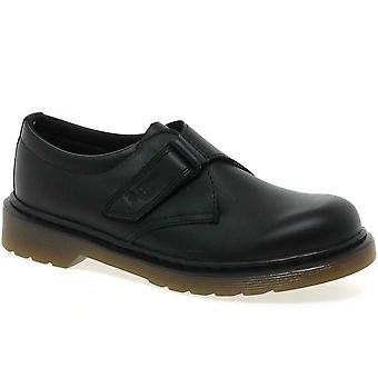 Dr. Martens Jerry Strap Junior Boys School Shoes
