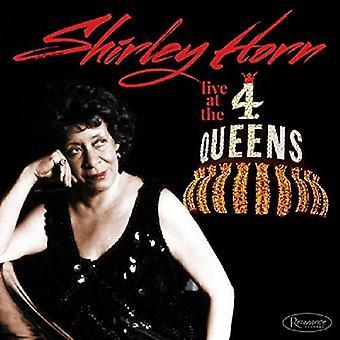 Live på 4 Queens - Horn Shirley [CD] USA importerer
