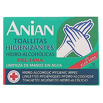 Anian Hidro-Alcoholic Wipes Cleansers 10 Units (Woman , Perfume , Gels and Lotions)