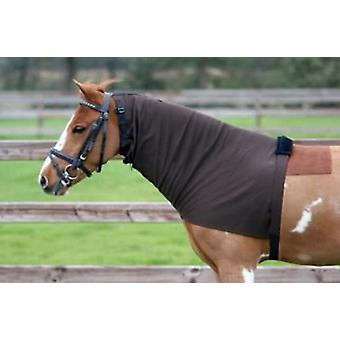 QHP Eczema covers necks Brown (Horses , Horse riding equipment , Legs and tail , Covers)