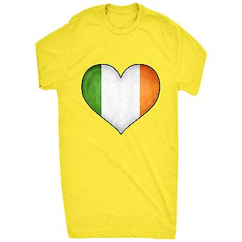 Coração de renome bandeira irlandesa