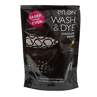 Dylon Wash & Dye  Chocolate Brown 400g from Caraselle