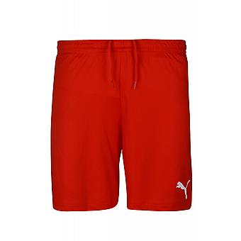 PUMA of soccer shorts inner slip sweat pants Red