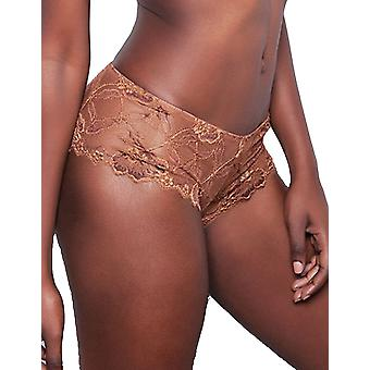 Nubian Skin 812082 Women's The Classic Cinnamon Brown Lace Hipster