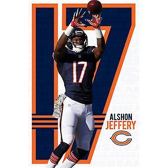 Chicago Bears - Alshon Jeffery 2014 Poster Poster Print