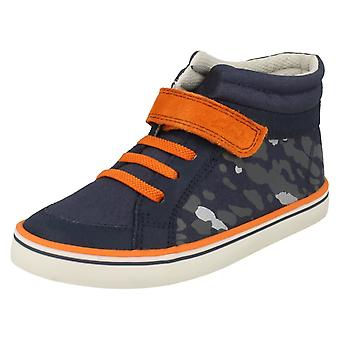 Boys Clarks Hi-Top Trainers Comic Walk