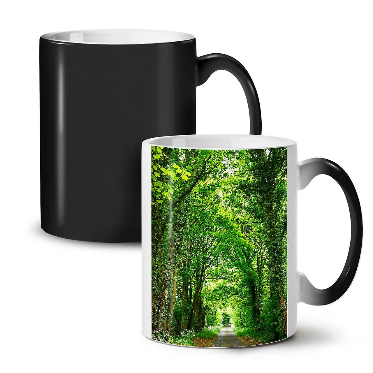 Café Céramique Black Thé Tasse Couleur Road New Green Forest Changeante OzWellcoda 11 6fb7gvYy