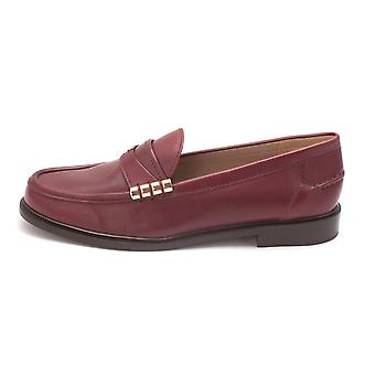 Cole Haan Womens Auricasam Leather Closed Toe Loafers