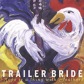Trailer Bride - Hope Is a Thing with Feathers [CD] USA import
