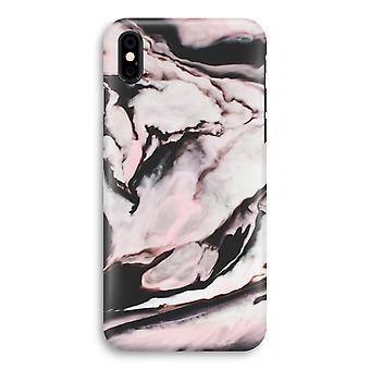 caso del iPhone X completo impresión - arroyo rosa