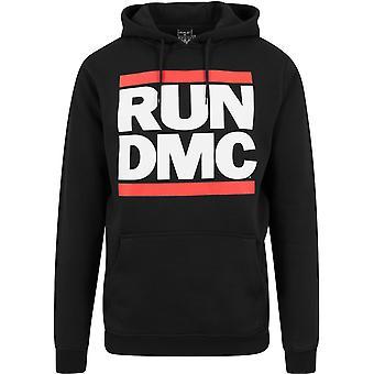 Merchcode X artisti - Run DMC Logo Felpa con cappuccio nero
