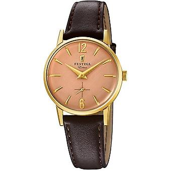Festina Lady watch extra leather band classic F20255/2
