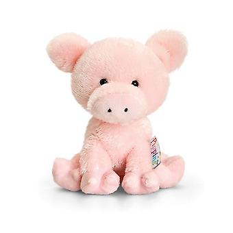 Keel Pippins Pig Soft Toy 14cm