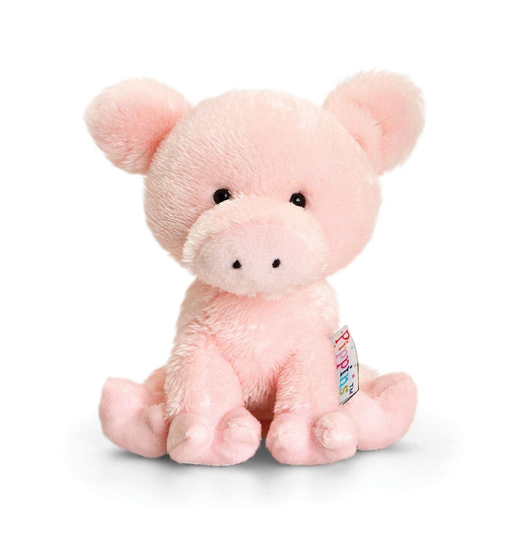 Keel Pippins Pig Soft Toy 14cm