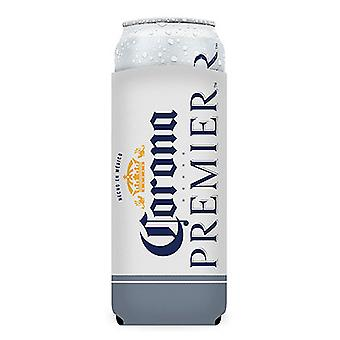 Corona Premier LARGE 24oz White Insulator Can Cooler For XL Cans