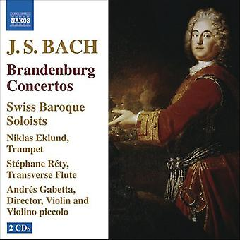 J.S. Bach - Bach: Brandenburg Concertos [CD] USA import