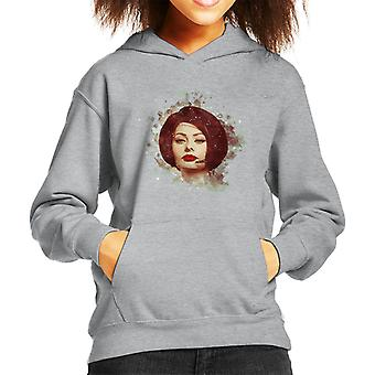 Sophia Loren At The Savoy Shooting Operation Crossbow 1964 Kid's Hooded Sweatshirt