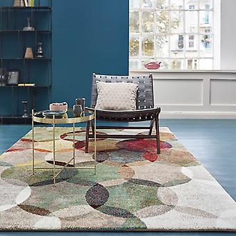 Espirt Modernina 3378 070 flerfärgade rektangel mattor moderna mattor