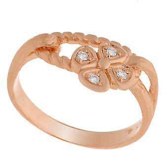 Orphelia Silver 925 Ring Rose  Zirconium   ZR-6020/1