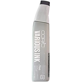 Copic Various Ink Refill For Sketch & Ciao Markers-Neutral Gray #10