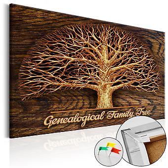 Ozdobny plansza - drzewo genealogiczne [Corkboard]