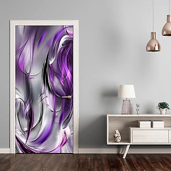Foto bakgrundsbild på dörren - FOTO tapet – lila abstraktion jag