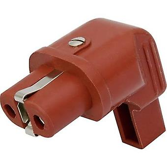 IEC Stecker 344 Serie (Netz-Stecker) 344-Buchse, rechtwinklig Gesamtzahl der Stifte: 2 + PE 16 A rot Kalthoff 344Si/Wi/25A 1 PC