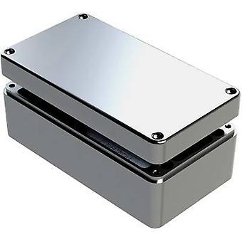 Deltron Gehäuse 488-261612A-68 Universal Gehäuse 260 x 160 x 120 Aluminium grau 1 PC