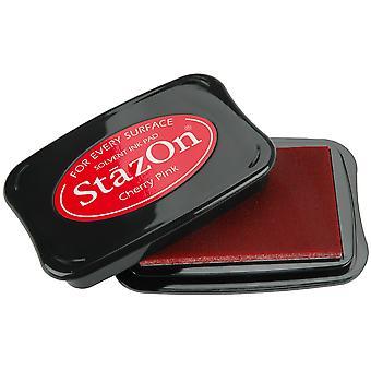 StazOn Solvent Ink Pad-Cherry Pink
