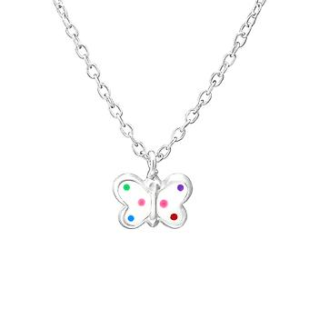 Butterfly - 925 Sterling Silver Necklaces - W35182x