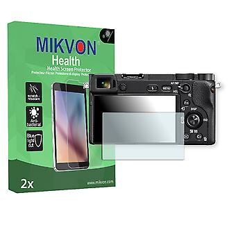 Sony Alpha 6300 Screen Protector - Mikvon Health (Retail Package with accessories)