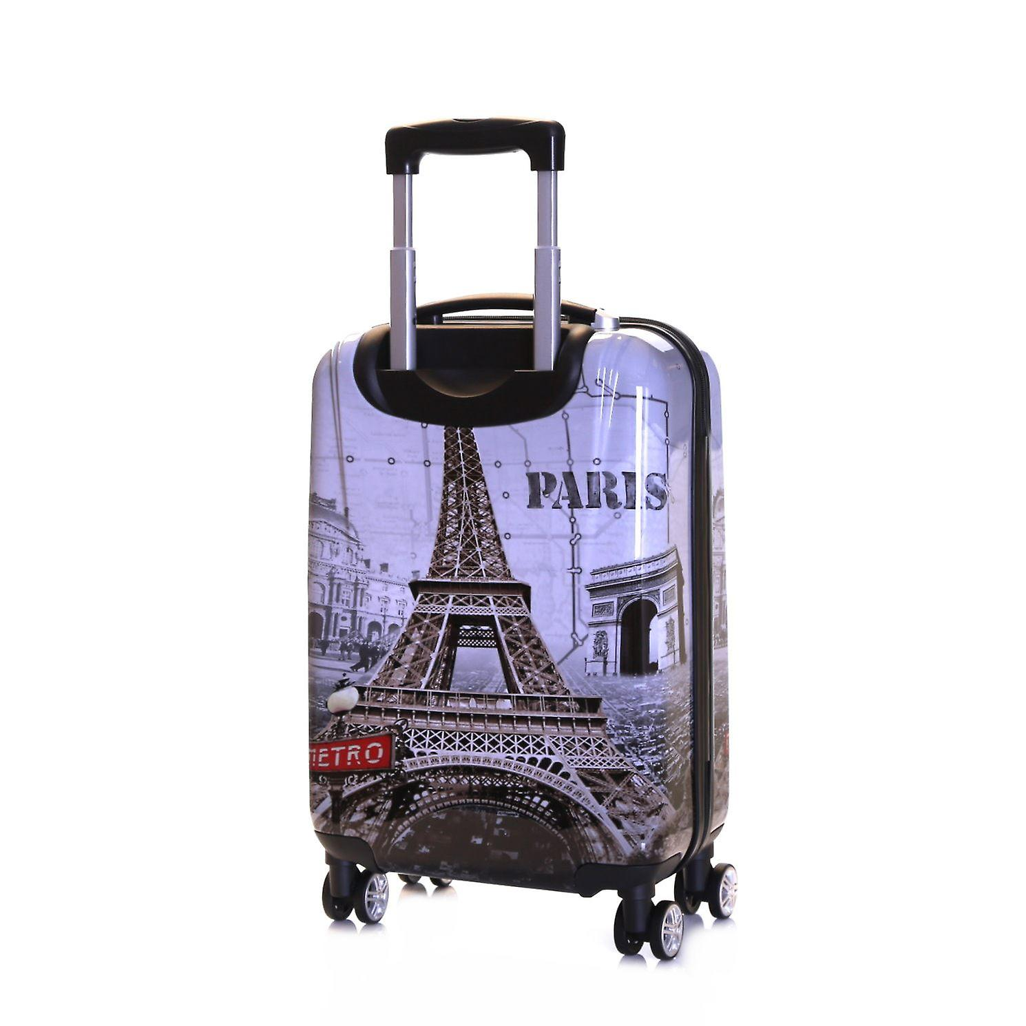 Karabar Falla Cabin 55 cm Hard Suitcase, Paris