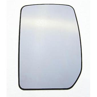 Left Mirror Glass (heated) & Holder for FORD TRANSIT Bus 2000-2014
