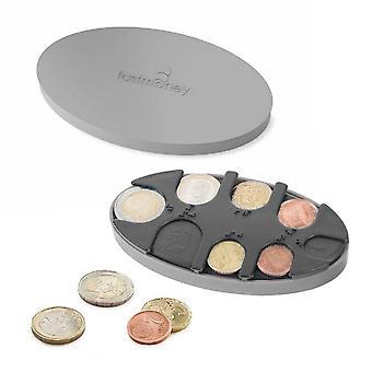 Coin hållare grå