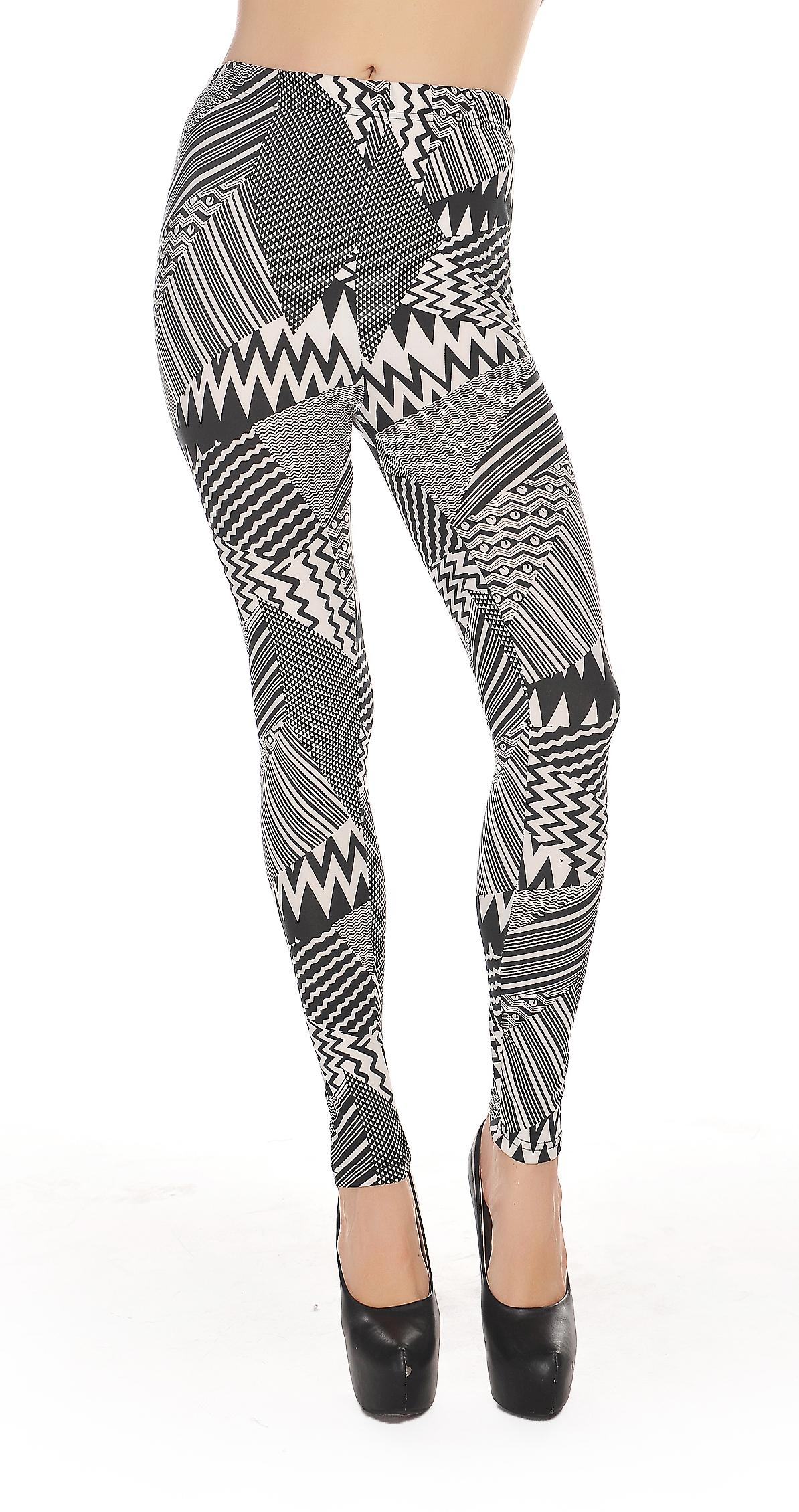 Waooh - Mode - Legging motif rayures psychédéliques