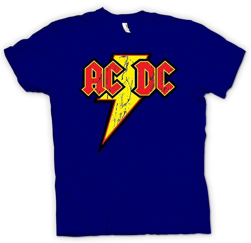 Mens t-skjorte - AC/DC - Rock n Roll Band